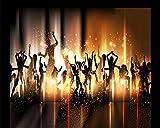 3D Wallpaper 3D Rock Street Dance Music Characters Carnival Bar Mural Ktv Background Wall Wall Papers Home Decor 450X300Cm