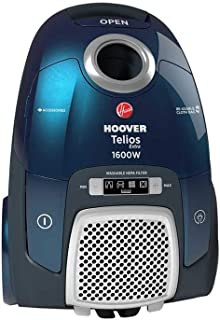 مكنسة كهربائية بفلتر هيبا من هوفر TX1600020، 1600 وات - ازرق داكن