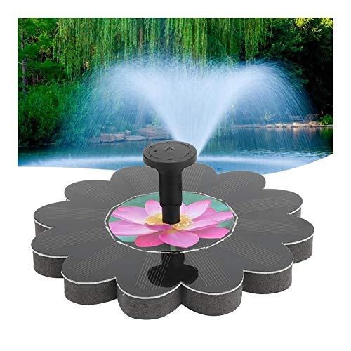 MINGMIN-DZ Dauerhaft 6V1.4W Sonnenenergie-Wasser-Brunnen-Pumpen-Garten-Landschaft im Freien Solar-Panel-Vogel-Bad Schwimmwasser-Brunnen-Pumpen-Garten-Dekor