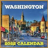 Washington Calendar 2022: Daily, Weekly and Monthly Planner | Washington 2021-2022 Planner | Washington Calendar and Organizer | small calendar