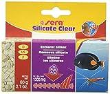 Sera silicate clear 60 g – Eliminación duradera de silicato de silicato del nutriente de algas de sílice para agua dulce y agua de mar (material de filtro en calidad de laboratorio).