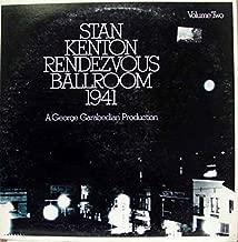 STAN KENTON RENDEZVOUS BALLROOM VOL. 2 vinyl record