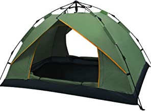 Charhoden  SQ-080-L Single Layer Tent Camping Tent Outdoor Automatic Tent Waterproof / Rain-Proof for Camping Green - Green, Medium