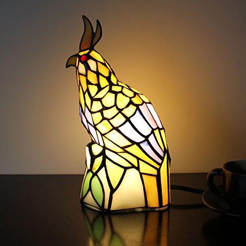 Retro Yellow Little Bird Lampe de table Lampe pour enfants Night Light