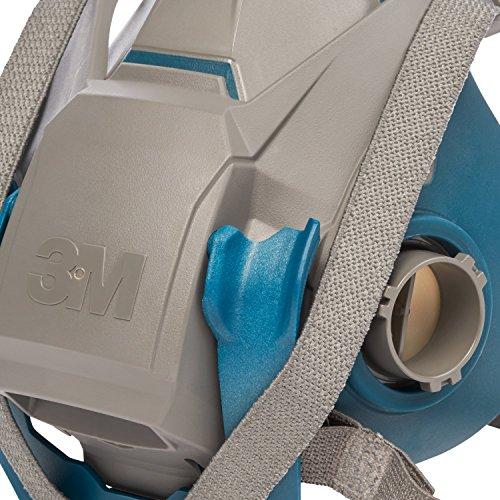 3M Atemschutz-Halbmaske 6502QL – Atemmaske mit Cool-Flow Ausatemventil & Quick-Release Mechanismus – Mehrwegmaske mit großer Filterauswahl für unterschiedlichste Einsatzzwecke - 2