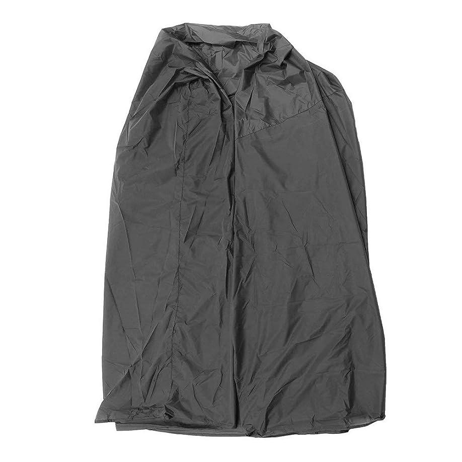 思春期ボイド状態ファニチャー カバー 屋外のビーチチェア防水カバーガーデンベンチUV雨ダストプロテクター 屋外用家具カバー (色 : Black, Size : 130x100x170cm)
