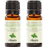 100% Pure Peppermint (Piperita) Essential Oil 10ml, 50ml, 100ml (2 x 10ml)