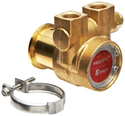 Procon 112A035F11CA Brass Rotary Vane Pump, 3/8