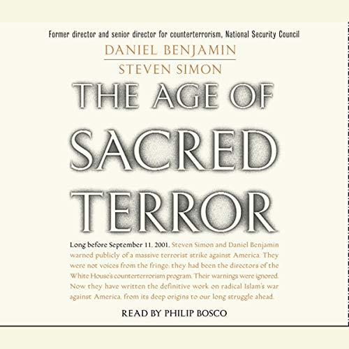 The Age of Sacred Terror audiobook cover art