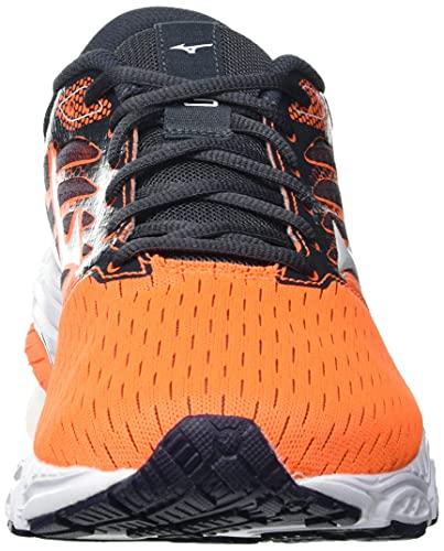 Mizuno Wave Prodigy 3, Zapatillas para Correr Hombre, Orangecf Barelyb ébano, 46 EU