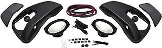 Hogtunes 4405-0393 6x9-Inch Saddlebag Lid Speaker Kit with Speakers