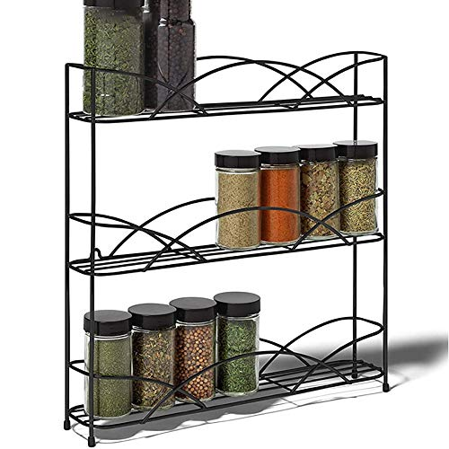NAINAIWANG Especiero Cocina Madera para almacenar Estante de Almacenamiento Spice Rack Organizador de Cocina para Pare Especiero Cocina Pared idóneo Especiero Cajon y Especiero Pared