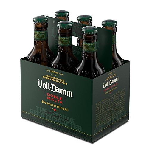 Voll-Damm Cerveza - Paquete de 6 x 330 ml - Total: 1980 ml