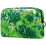 Neceser de Maquillaje Bolso Cosmético Monedero, crisantemos de Claude Monet