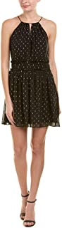 Joie Womens Althia Silk Blend Halter Party Dress