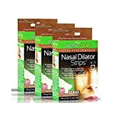 Breathe Clear® Ultra Performance Nasal Strips, 90 Count, Clear | Instant Nasal Congestion Relief | Perfect for Colds & Allergies | Helps Improve Sleep & Reduces Snoring