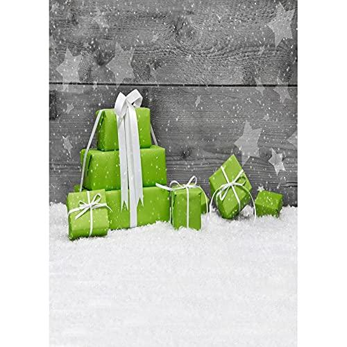 Fondo de fotografía de Tema de Navidad Personalizado de Vinilo Fondos de Retrato de niños para Accesorios de Estudio fotográfico A2 1,5x1 m
