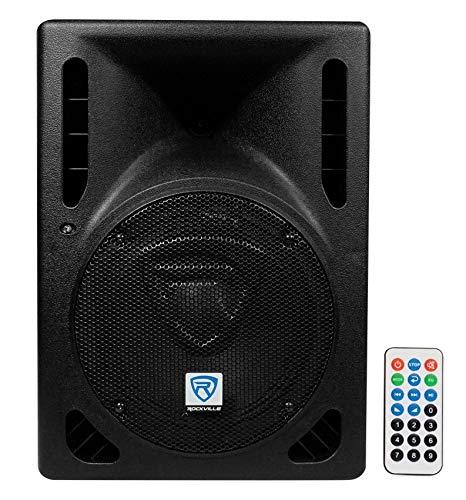 Rockville RPG8BT V2 8' Powered 400W DJ PA Speaker Bluetooth/Wireless/Remote/EQ