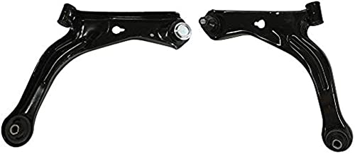 DRIVESTAR K80397 K80398 Front Lower Control Arms with Ball Joint Bushing for 2001-2004 Ford Escape, 2001-2004 Mazda Trubute, OE-Quality New Front Suspension both Driver and Passenger Side Lower Arms