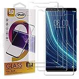Guran 4 Paquete Cristal Templado Protector de Pantalla para ARCHOS Diamond Omega Smartphone 9H Dureza Anti-Ara?azos Alta Definicion Transparente Película