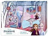Disney Frozen- Set 20 Piezas Pelo y Cepillo 2 Sets de cosmética y joyería (Kids 8435507822930)