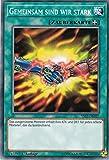 YS17-DE027 - Gemeinsam sind wir Stark - Common - Yu-Gi-Oh - Deutsch - 1. Auflage - LMS Trading -