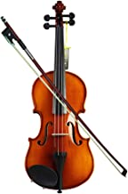 LVSSY-Violin Beginner Children Practice Professional Level Adult Examination Violin Retro Color Acoustic Violin Starter Kit More Choices