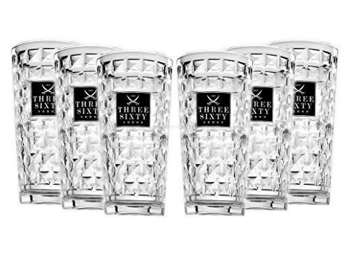 Three Sixty Gläser 6 Stück