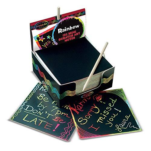 Melissa & Doug- Box of Rainbow Mini Tarjetas para Dibuja