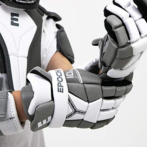 Epoch iD Jr. Youth Lacrosse Player Gloves - 4.5-5.5 Inches (11.5 cm - 14 cm) with Dual Density Foam