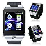 Indigi® Universal Bluetooth SmartWatch For Apple iOS Samsung Android OS Nokia Windows SmartPhone