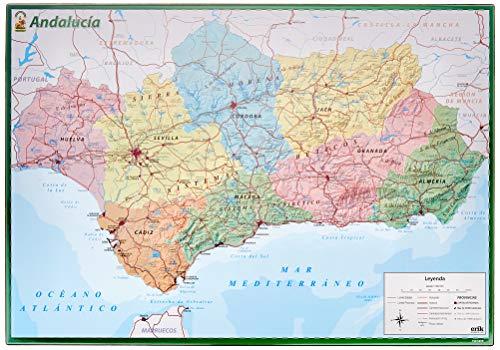 Vade schoolkaart Andalucia