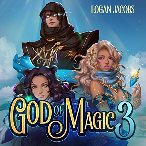God of Magic 3 audiobook cover art