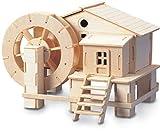 Quay Wasserrad Holzkonstruktion Kit FSC