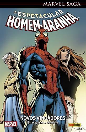 Marvel Saga - O Espetacular Homem-aranha Vol. 8: Novos Vingadores