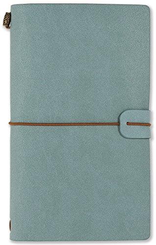 Voyager Refillable Notebook - Light Blue (Traveler's Journal, Planner, Notebook)