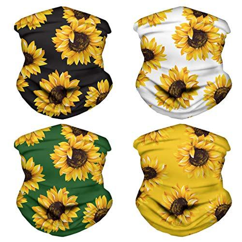 Zarupeng Multifunctionele gezichtssjaal voor motorfiets, bandana's, hoofdbescherming, sport, halsmanchet, hoofdband voor heren en dames, outdoor, festivals/sport
