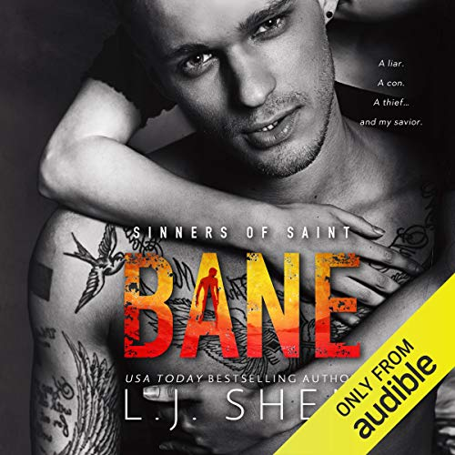 Bane audiobook cover art