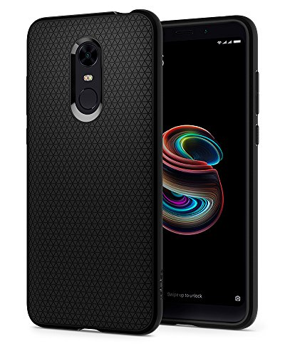 Spigen Liquid Air Armor Designed for Xiaomi Redmi Note 5 Case (2018) / Designed for Redmi 5 Plus Case (2018) - Black