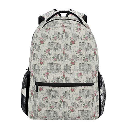 Bennigiry Cath Kidston 101 Dálmatas, mochila escolar, bolsa de viaje