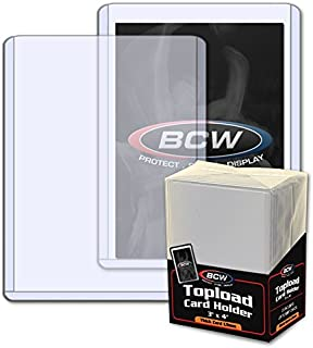 BCW 1-TLCH-TH-1.5MM New Thick Card Topload Holder - 59 Pt.