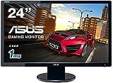 ASUS ゲーミングモニター24型 フルHDディスプレイ (応答速度1ms / HDMI,DVI,D-sub/スピーカー内蔵/VESA規格 / 3年保証) VE248HR