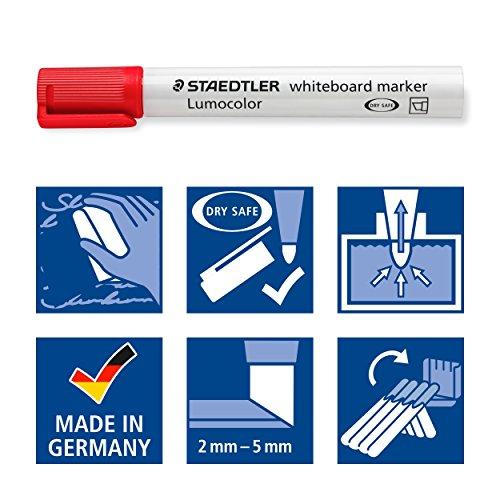 ステッドラー『ルモカラーホワイトボードマーカー(351BWP6)』