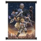 Kingdom Hearts Birth by Sleep Game Fabric Wall Scroll Poster (16'x21') Inches