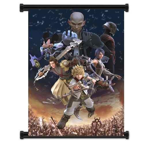 Pôster de rolagem de parede Kingdom Hearts Birth by Sleep Game (40,64 cm x 53,34 cm)