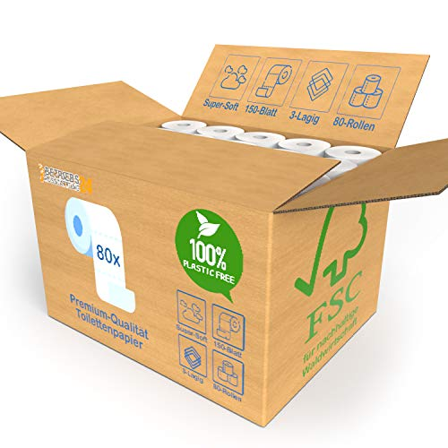 Betriebsausstattung24 80x Rollen BULK-Verpackung XXL Vorratspack Bild