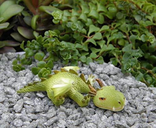 UNAMY ST Miniature Dollhouse Fairy Garden   Sleepy Mini Dragon Figurine   Yard, Garden, Ornaments, Statues by UNAMY ST