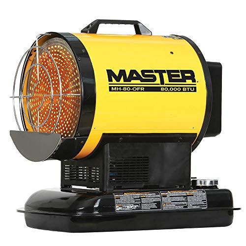 Master MH-80-OFR 80,000 BTU Silent Drive Kerosene/Diesel Radiant Heater