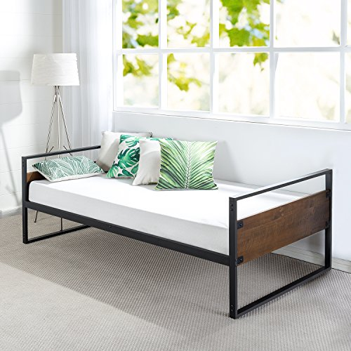 Zinus Suzanne Twin Daybed Frame / Premium Steel Slat Support