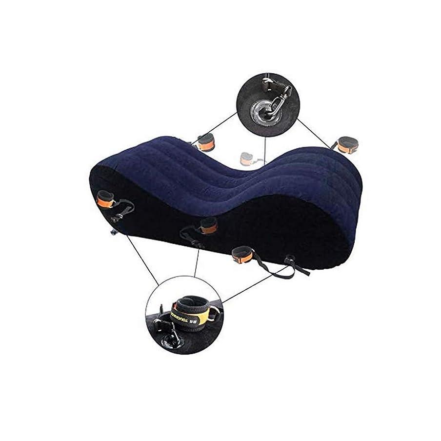 羨望スクラブ着替えるLTT 膨脹可能な多機能のソファー - 携帯用クッションボディ枕カップルの位置のための膨脹可能な家具のラウンジャー